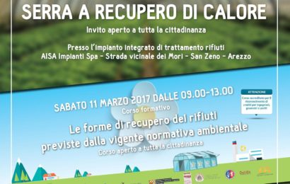 Aisa Impianti spa, San Zeno Open Plant – Sabato 11 Marzo