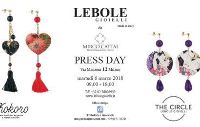 Press Day Lebole Gioielli @ Galleria d'arte Mirco Cattai