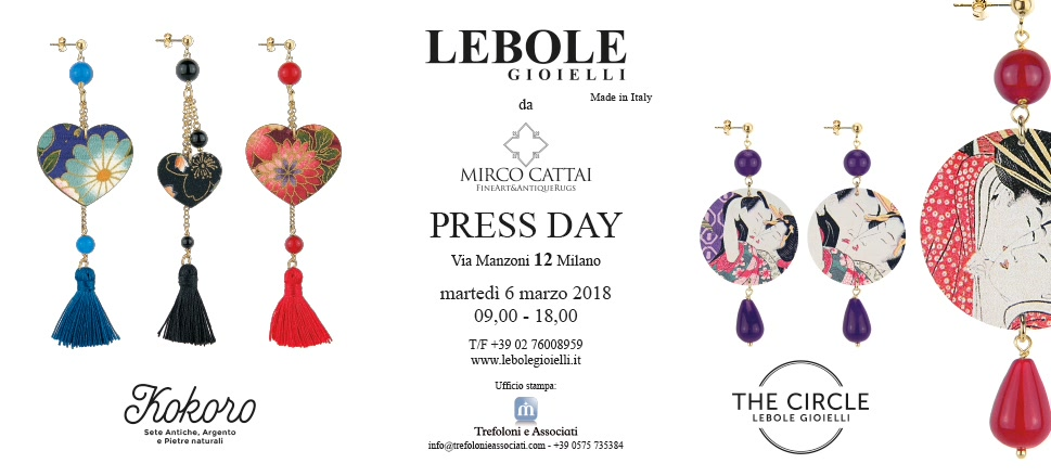 Press day lebole gioielli