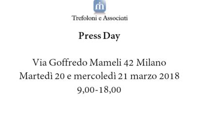 Press Day @ Trefoloni e Associati Milano