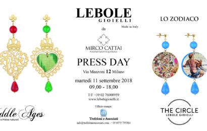 Press day Lebole Gioielli