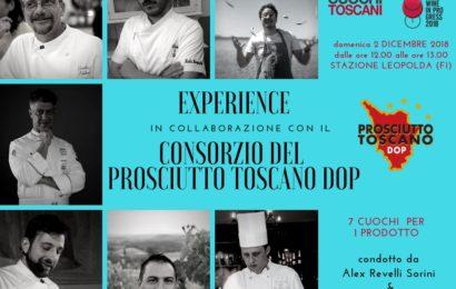 """Prosciutto Toscano DOP per la prima volta a """"Food & Wine in progress"""""""