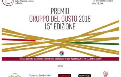 Premio Gruppo del Gusto 2018