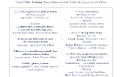 Aboca – A dieci anni dai lavori della commissione Rodotà: Quale futuro per i beni pubblici?