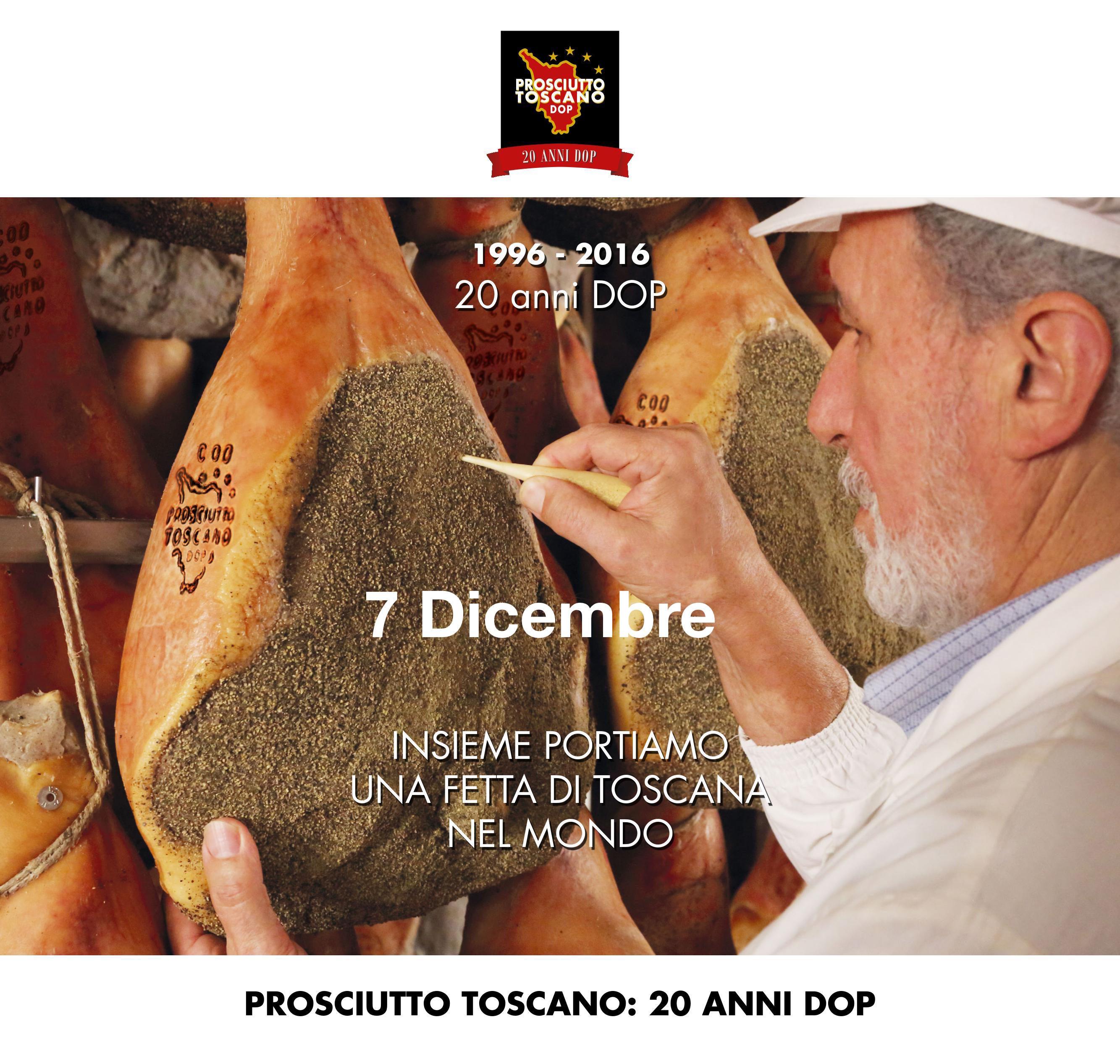 Prosciutto Toscano: 20 anni DOP – 7 Dicembre – Firenze