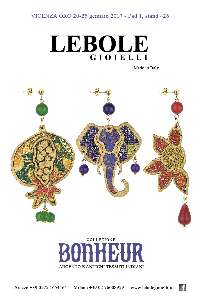 Lebole Gioielli a VICENZAORO January – 20-25 Gennaio