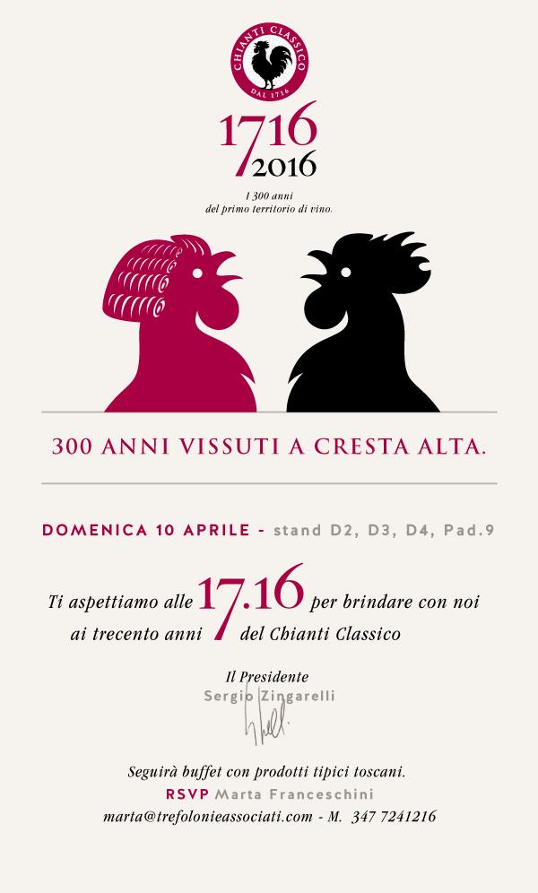 Consorzio Vino Chianti Classico – Vinitaly – 10/13 aprile 2016.