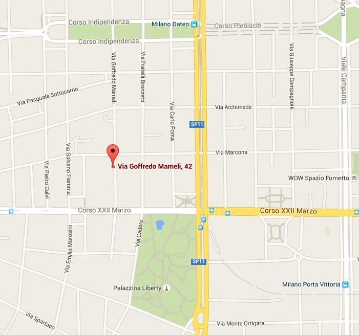 Inaugurazione nuova sede Milano, lunedì 6 giugno 2016 , ore 18.00