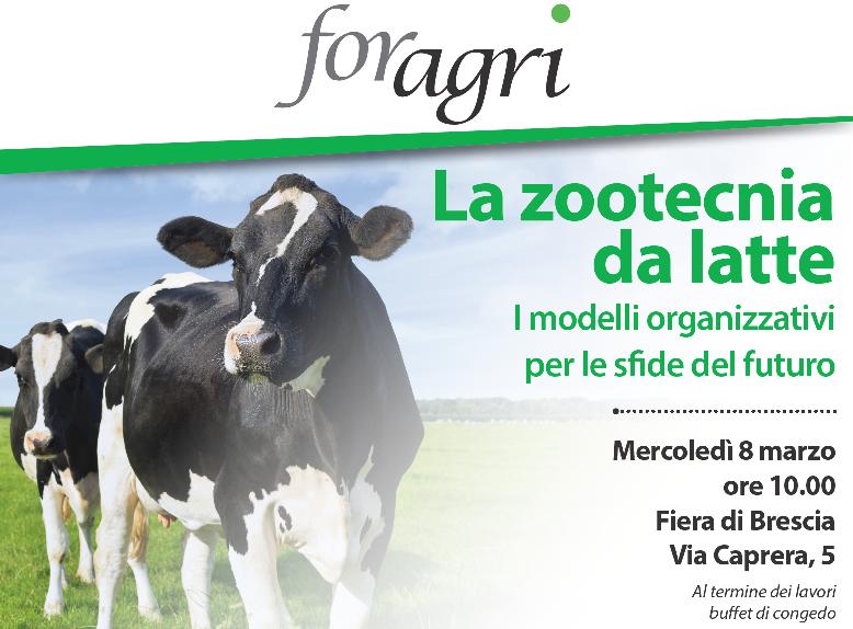 Convegno Foragri – IL FUTURO DEL LATTIERO CASEARIO ITALIANO