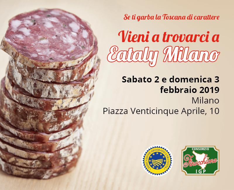 Consorzio Finocchiona IGP @ Eataly Milano