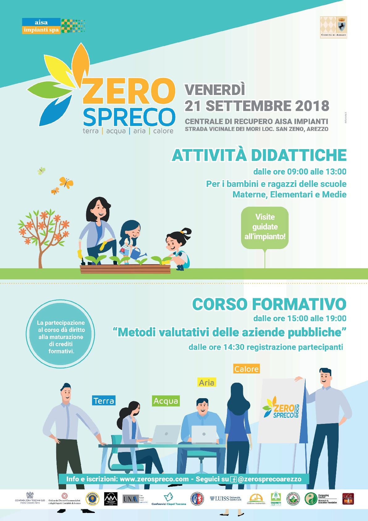 Aisa Impianti: Attività didattiche e corso formativo