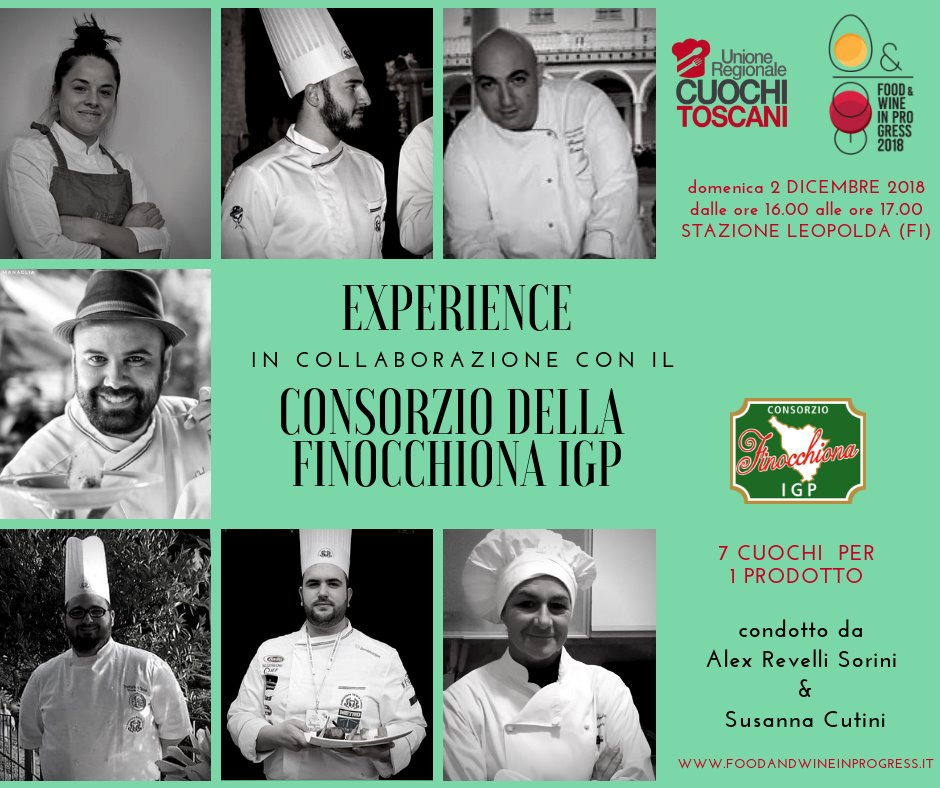 "La Finocchiona IGP per la prima volta a ""Food & Wine in progress"""