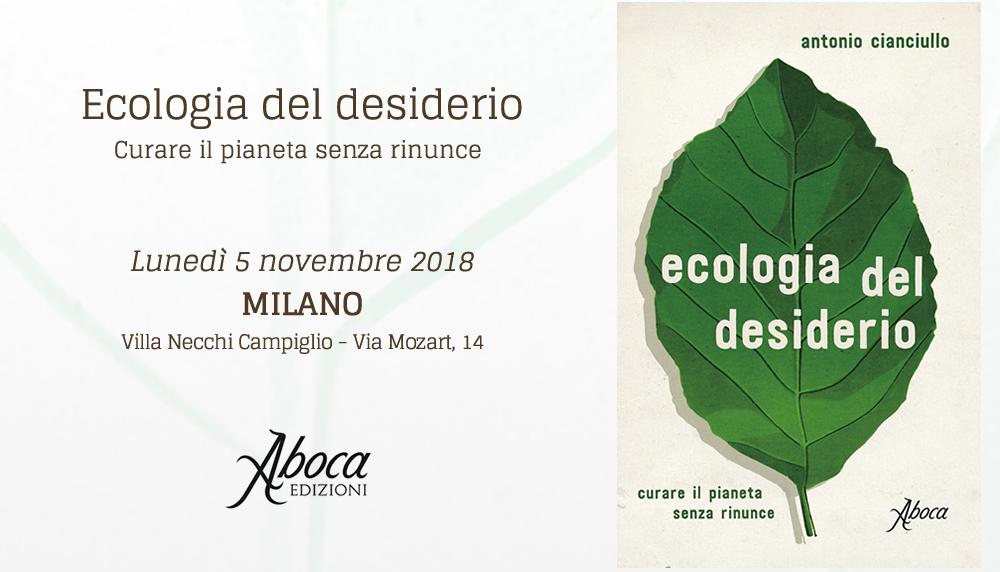 """Aboca: """"ECOLOGIA DEL DESIDERIO. Curare il pianeta senza rinunce"""""""