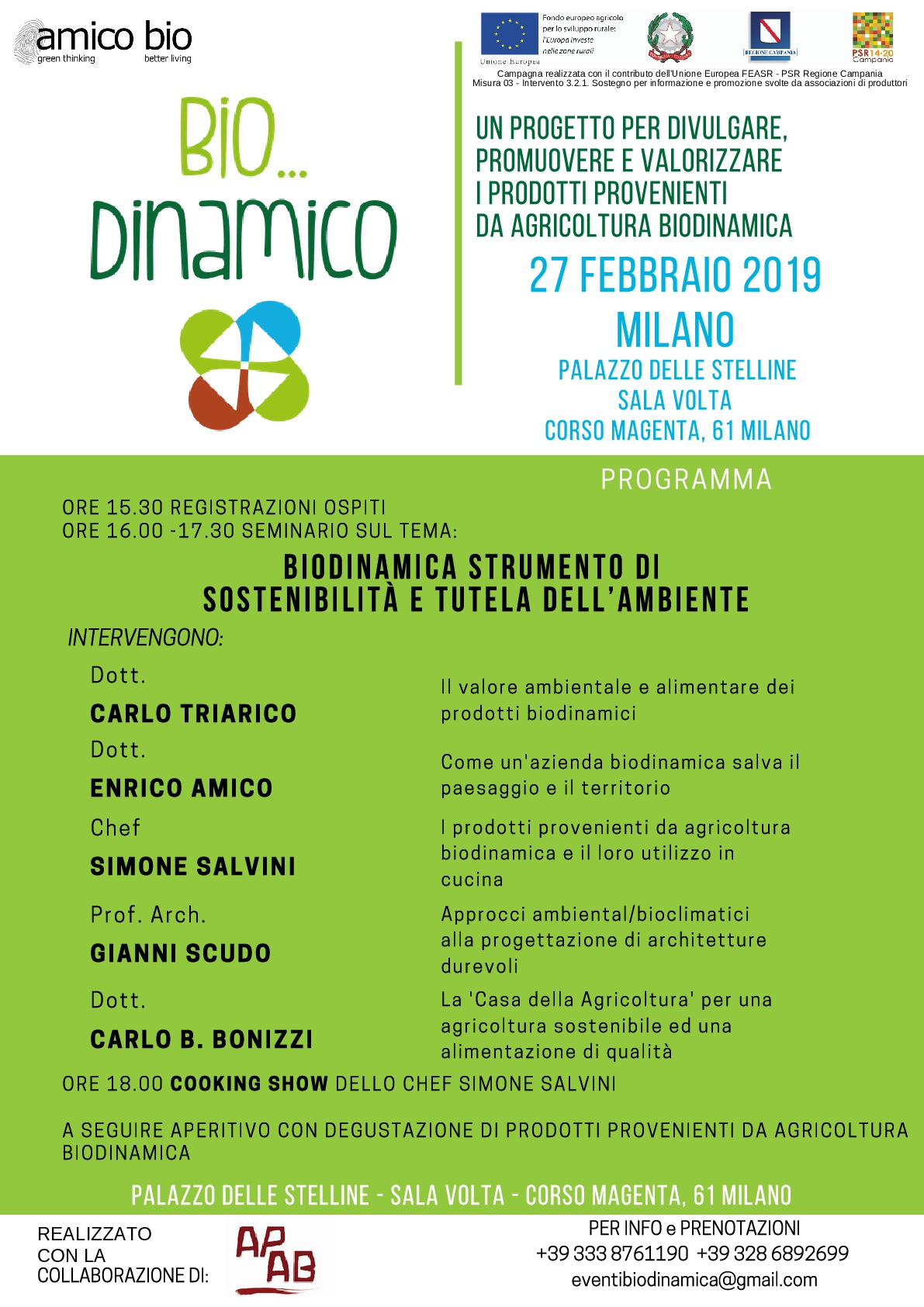 Bio…Dinamico @ Palazzo Delle Stelline, Milano
