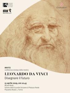 """Musei di Torino, conferenza stampa: """"Leonardo da Vinci disegnare il futuro"""""""