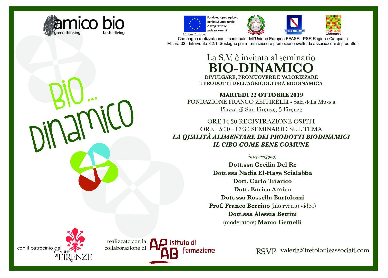 La qualità alimentare dei prodotti biodinamici